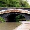 Grand Union Canal, Bridge 41 looking west, Leamington