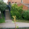 Steps to Grand Union Canal from Tachbrook Road, Leamington