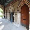 St George the Martyr, Aubrey Walk, London W8 - Entrance