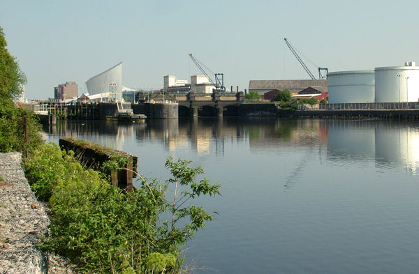 Mode Wheel Locks, Manchester Ship Canal
