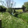 Railway bridge near Castor