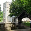 St Andrew's church and lych gate, Feniton