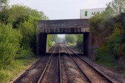 Woodstock Road bridge at Yarnton