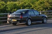Car on A5 By-Pass Bridge