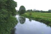 The River Roding at Passingford Bridge, Essex