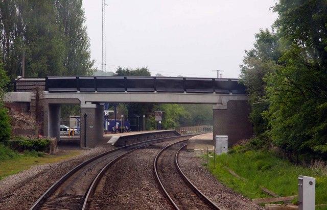 Station Road Bridge and Heyford Station