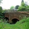 Bridge over Gilwiskaw Brook at end of Hall Lane