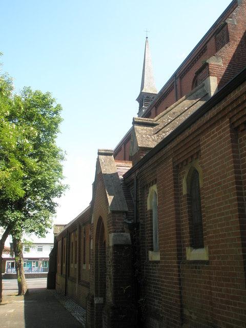 Side of St John's, Forton Road