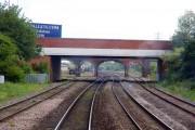 Hennef Way bridge in Banbury