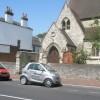 Church porch of Christ Church, Stoke Road