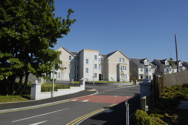 New builds on Polmuir Gardens, Aberdeen