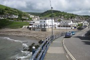 Combe Martin with the tide in