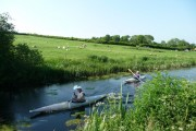Mid Devon : Grand Western Canal & Canoeists