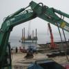 Works progressing on the new slipway