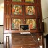 St Peter's church - 19th century organ case
