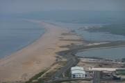 View along Chesil Beach