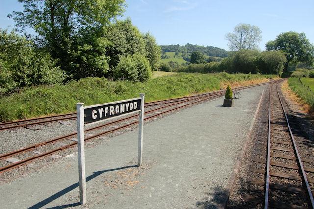 Cyfronydd Station