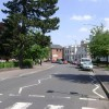 The east end of Avenue Road, Leamington Spa