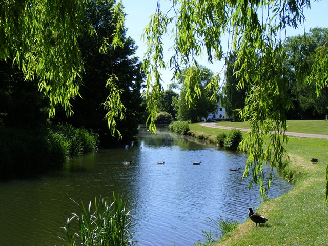 The river Roding at Fyfield