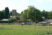 Home Farm and Clifton Church