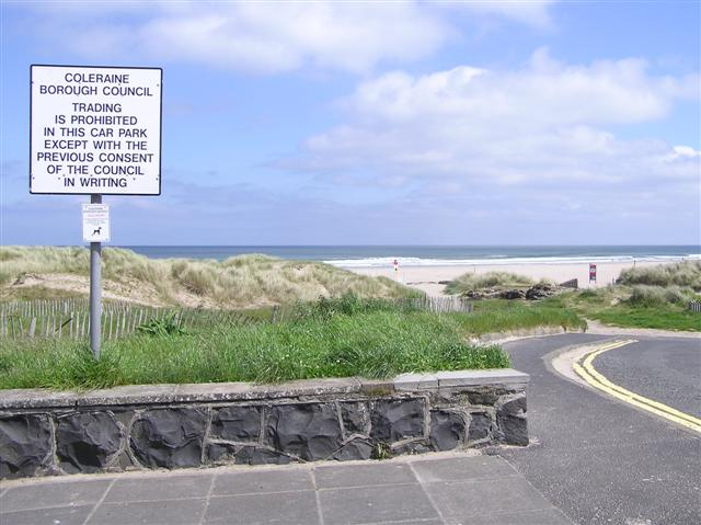 Castlerock seafront