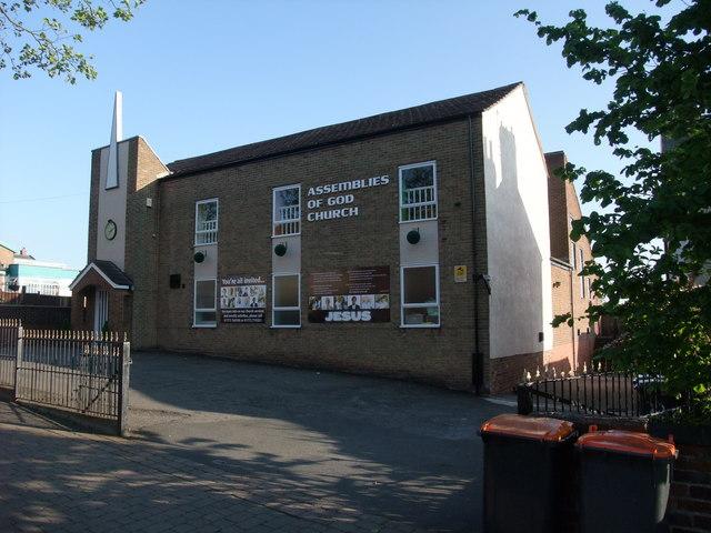 Assemblies of God Church, Hill Top, Eastwood