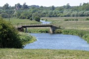 Footpath bridge between Achurch and Wadenhoe