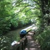 The way down to the Grand Union Canal near Tring Station