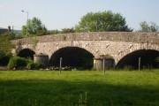 The river bridge, Caerws, Powys