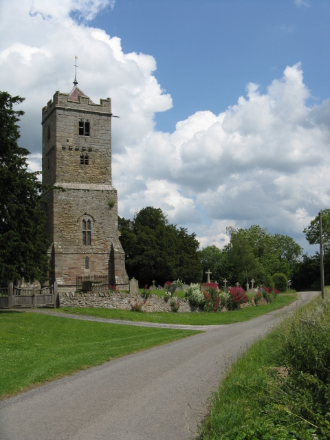 Yarkhill Church - Viewed From The West