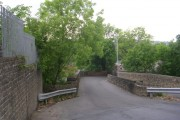 Bridge over Keighley & Worth Valley Railway - Woodhouse Road