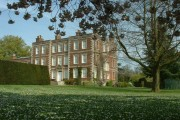 Gunby Hall from south west.