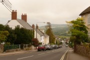 Charmouth: looking down The Street