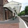 Dalmally Railway Station looking east