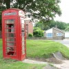 K6 Telephone box on the Green