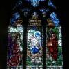 St John the Baptist church - East window