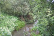 The River Mole at Horley