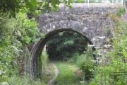 Bridge over footpath at Perranwell