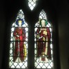 Stained glass window in the side chapel at Christ Church, Gosport (3)