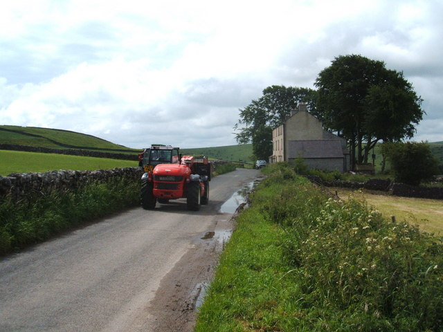 Tractors at New Houses
