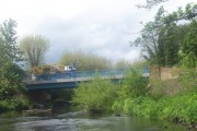 The new bridge at Wardsend