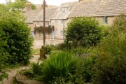 Worth Matravers: looking out from the village green