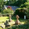 Across the graveyard, Savernake Christchurch, Cadley