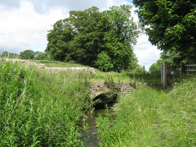 Cart bridge over Ulnaby Beck