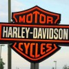 Harley-Davidson sign in Wootton