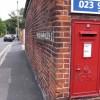 Georgian postbox in Stoke Road