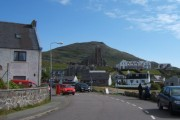 View from the Post Office, Castlebay