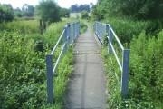 Footbridge over the River Lee
