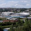 Liberty Stadium, Swansea, under construction, August 2004.