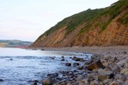 Looking along the beach towards Gauter Point